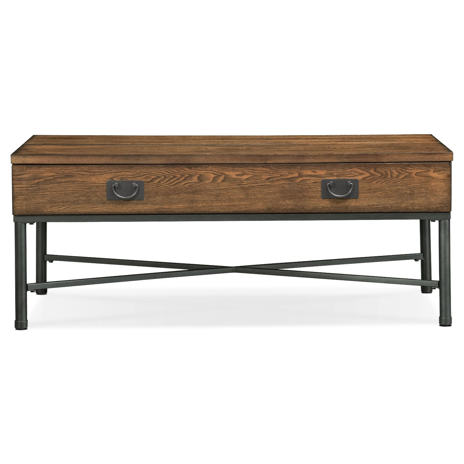 Shipyard Lift Top Cocktail Table Nutmeg