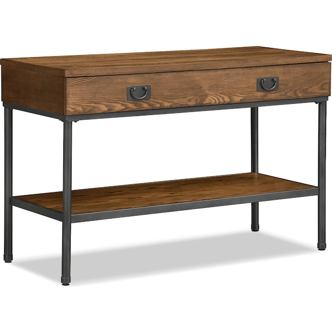 Accent and Occasional Furniture - Shipyard Sofa Table - Nutmeg
