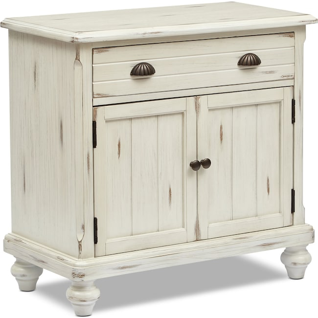 Accent and Occasional Furniture - Linny Accent Cabinet - Ivory