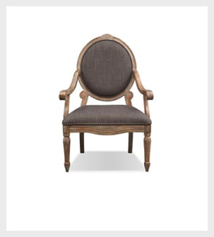 Shop the Gray Opal Accent Chair