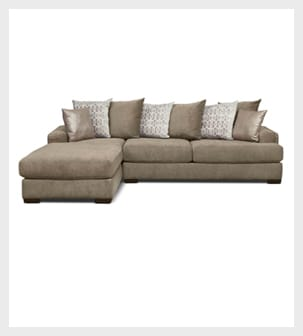 Shop the 2 piece Sectional with left-facing Chaise