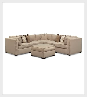 Shop the Athens 6 piece Sectional