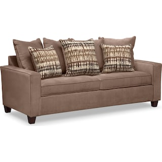 Bryden Queen Memory Foam Sleeper Sofa - Chocolate