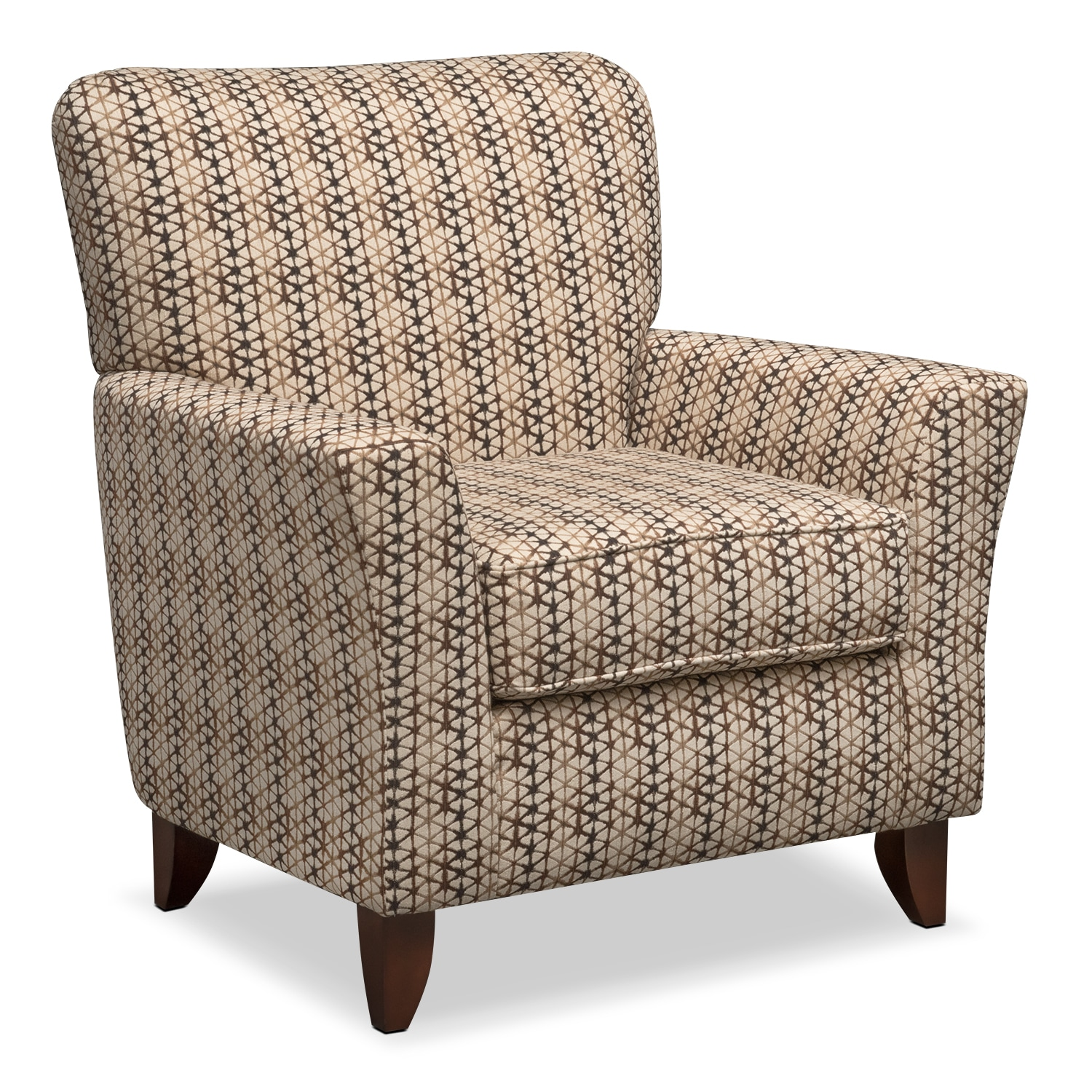 Bryden Accent Chair - Chocolate