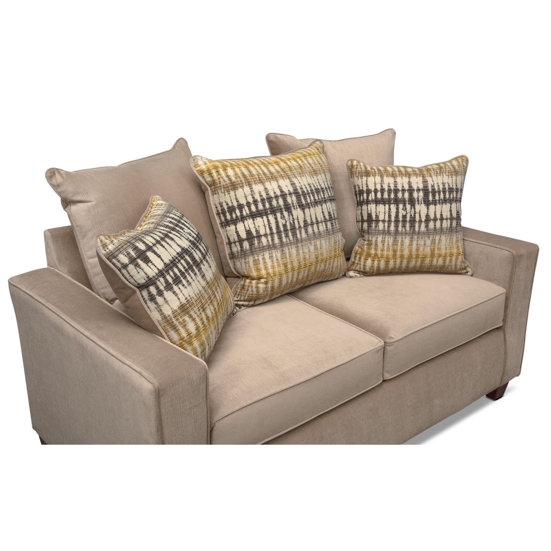 Bryden Queen Innerspring Sleeper Sofa Loveseat and Chair Set