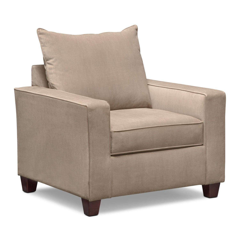 Living Room Furniture - Bryden Chair - Beige