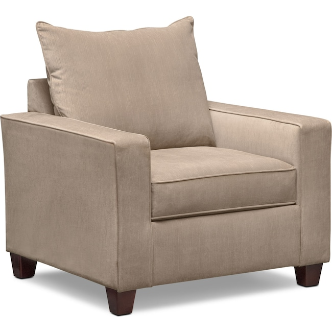 Living Room Furniture - Bryden Chair - Beige