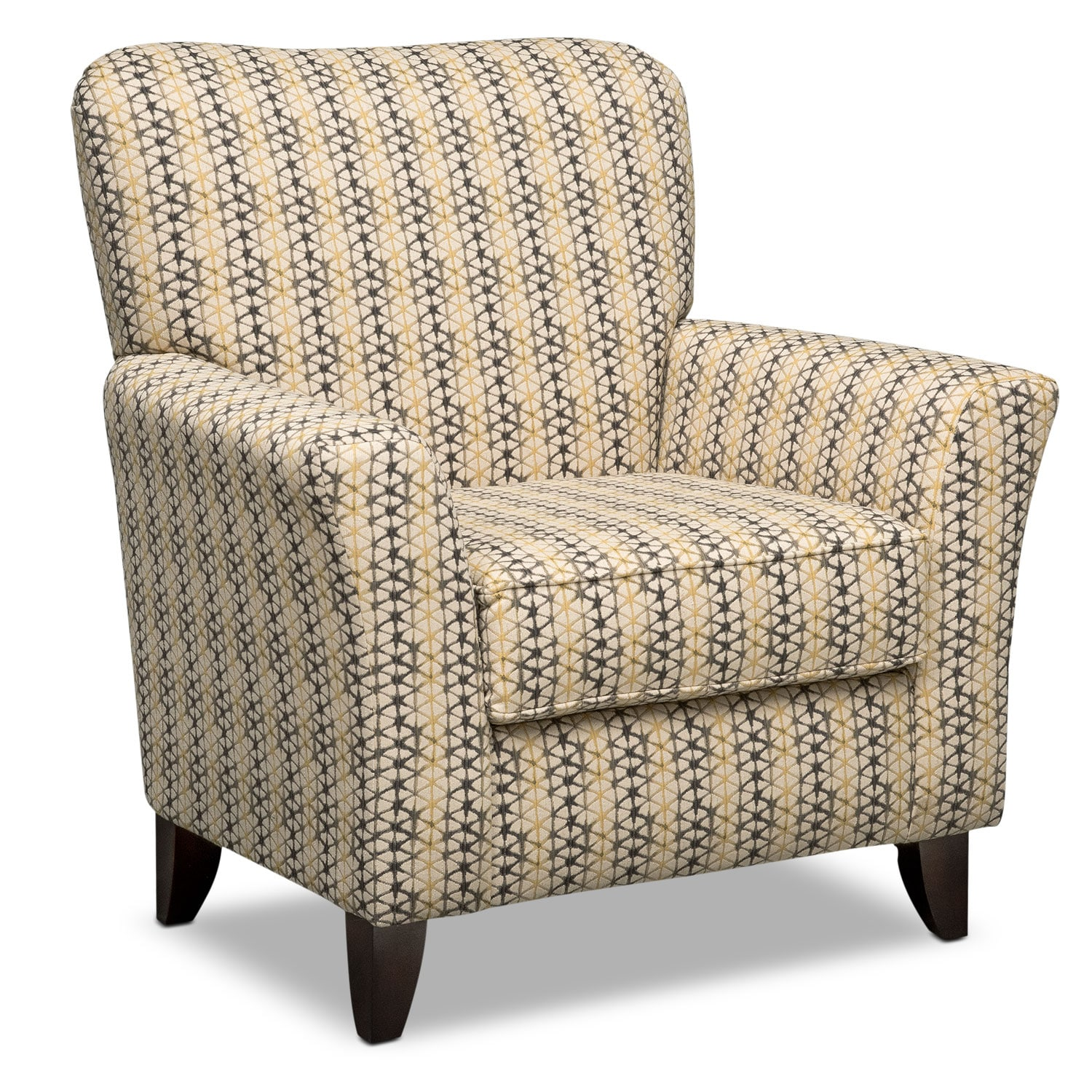 Living Room Furniture - Bryden Accent Chair - Beige