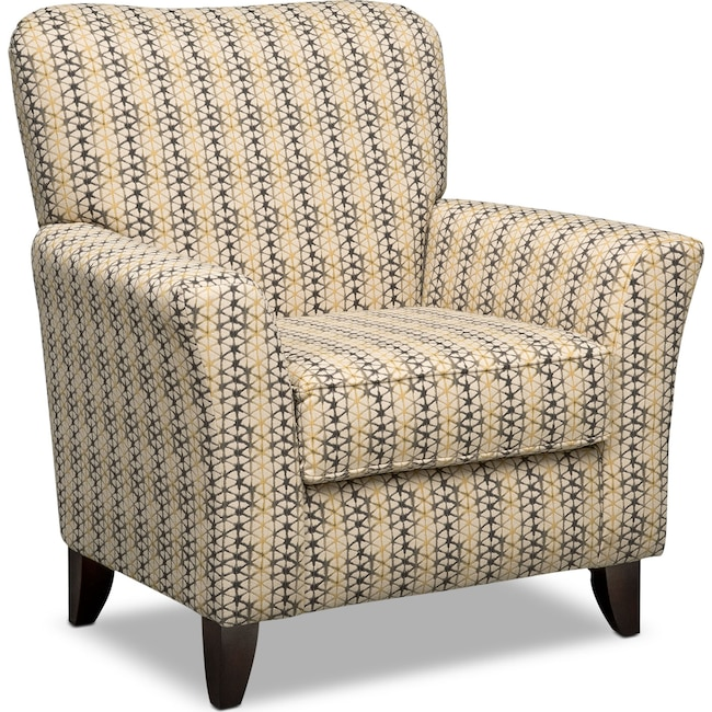 Living Room Furniture - Bryden Accent Chair - Beige