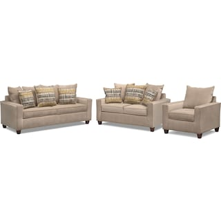 Bryden Sofa, Loveseat and Chair Set