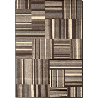 Ava 5 X 8 Area Rug Gray And Cream