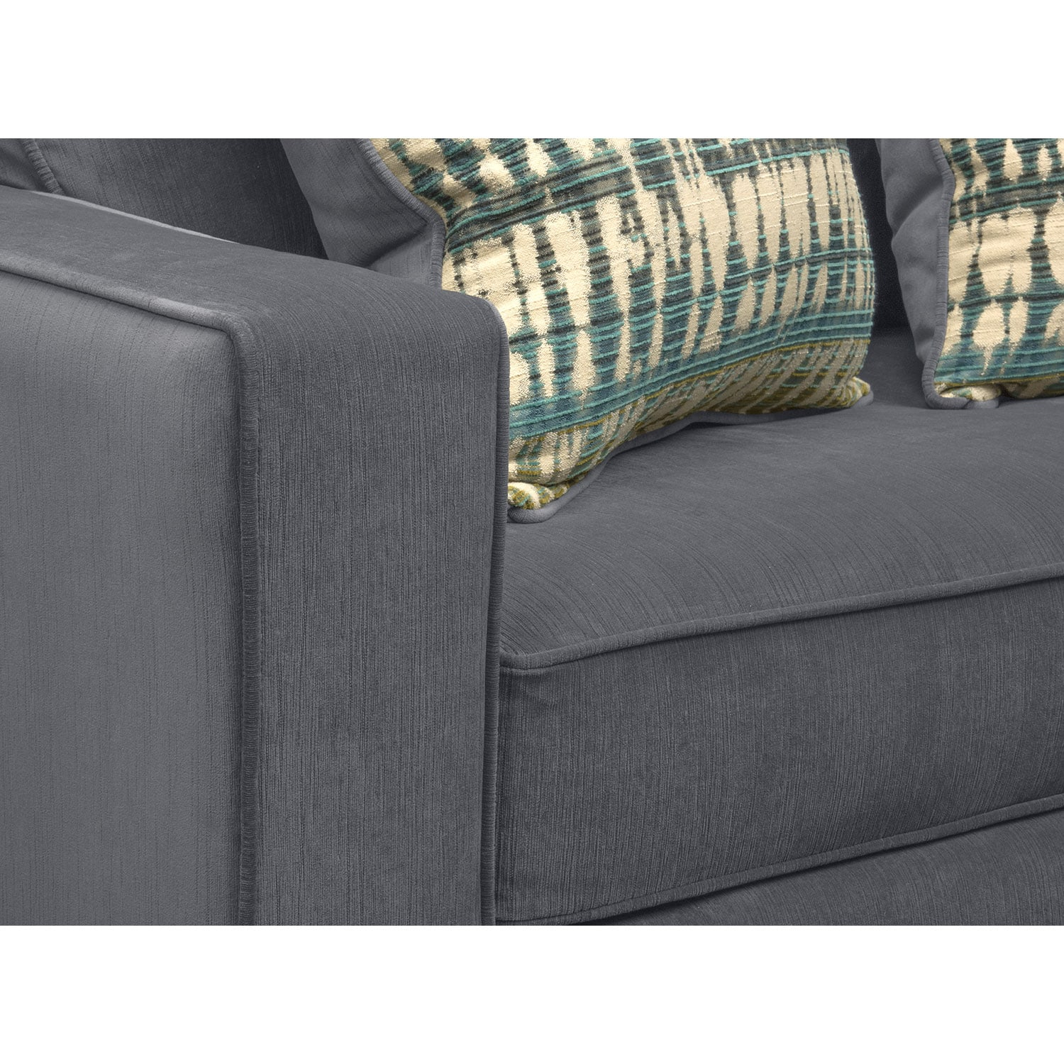 Bryden Queen Memory Foam Sleeper Sofa Slate