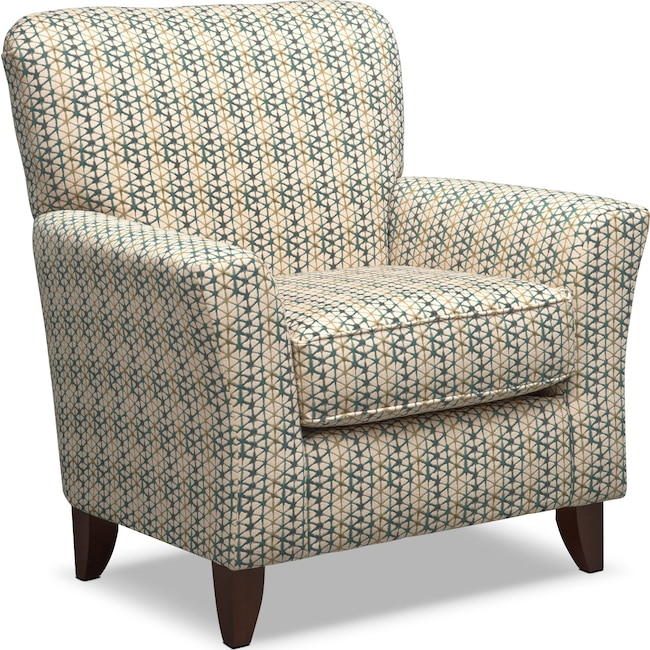 Living Room Furniture - Bryden Accent Chair - Slate