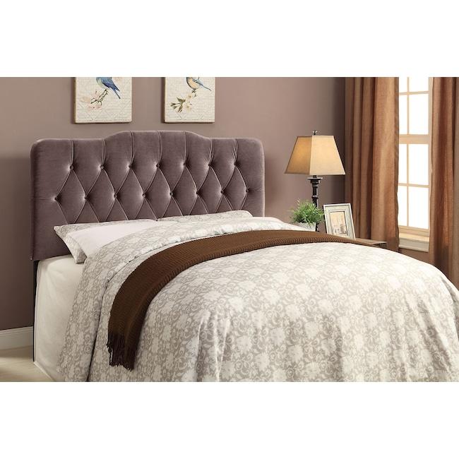 Bedroom Furniture - Quinn Queen Upholstered Headboard