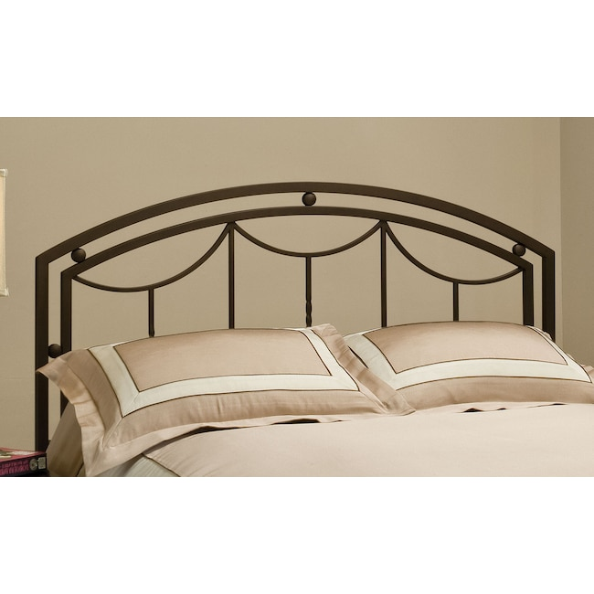 Bedroom Furniture - Arly King Headboard - Bronze
