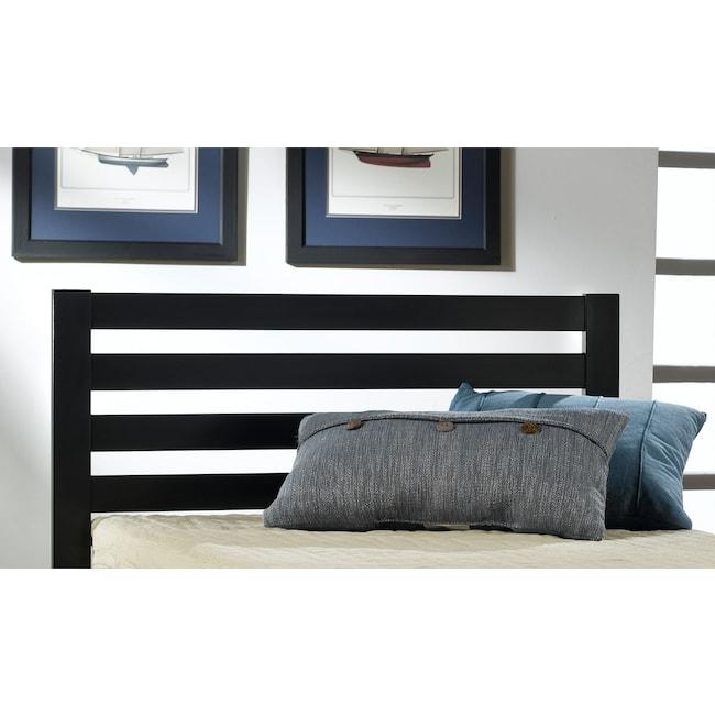 Kids Furniture - Aiden Twin Bed - Black