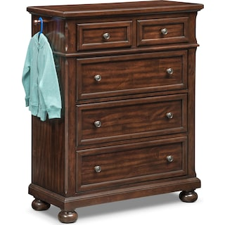 Hanover Youth Chest with Hangers - Cherry