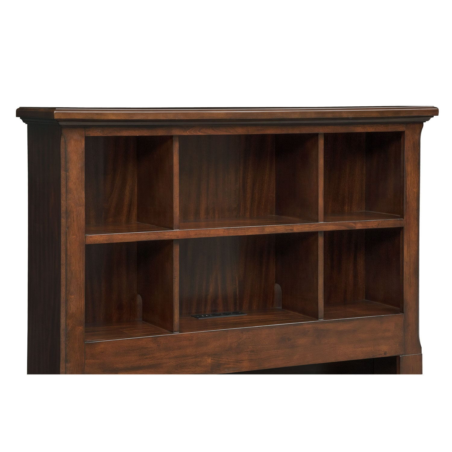 #68422C Hanover Youth Twin Bookcase Bed With Storage Cherry Value City  with 1500x1500 px of Brand New Bookcase With Storage 15001500 pic @ avoidforclosure.info