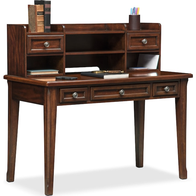 Bedroom Furniture - Hanover Youth Desk and Hutch - Cherry