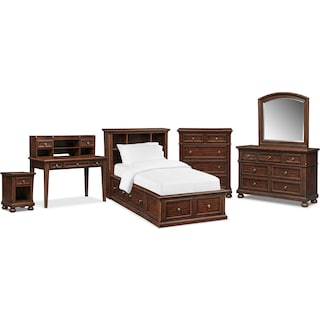 The Hanover Youth Bookcase Bedroom Collection - Cherry