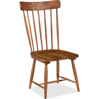 Farmhouse Spindle Back Side Chair - Bench