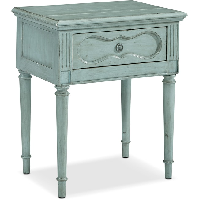 Bedroom Furniture - Cameo Night Table - French Blue