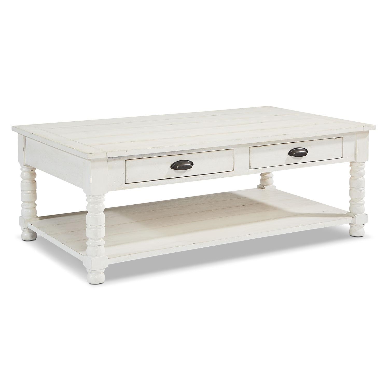 Accent and Occasional Furniture - Primitive Bobbin Coffee Table