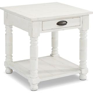 Primitive Bobbin Side Table