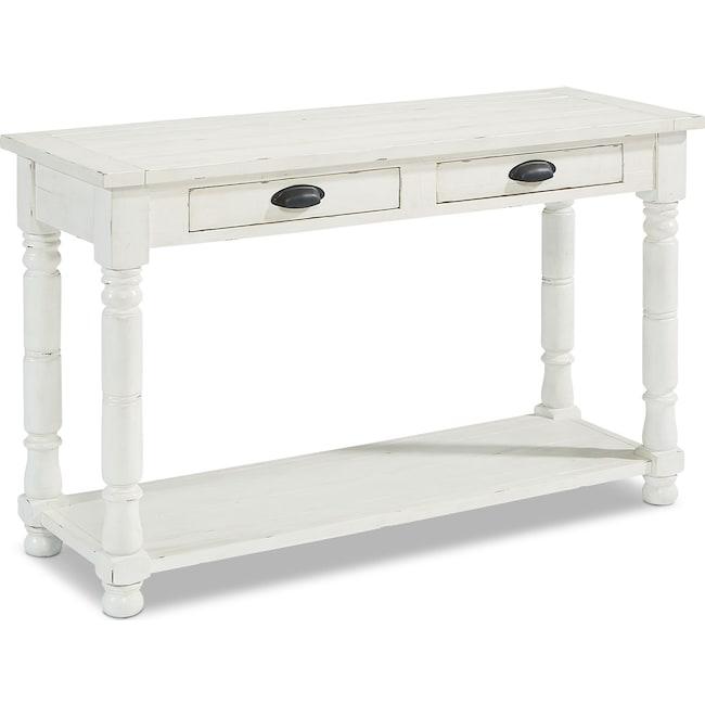 Accent and Occasional Furniture - Primitive Bobbin Console Table