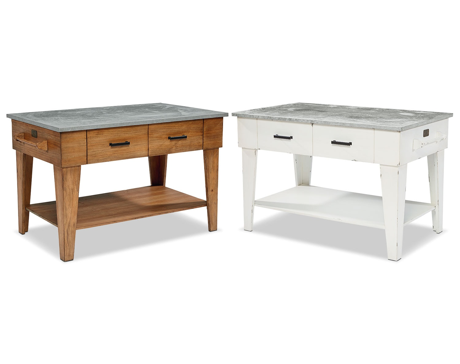 The Farmhouse Kitchen Island Collection