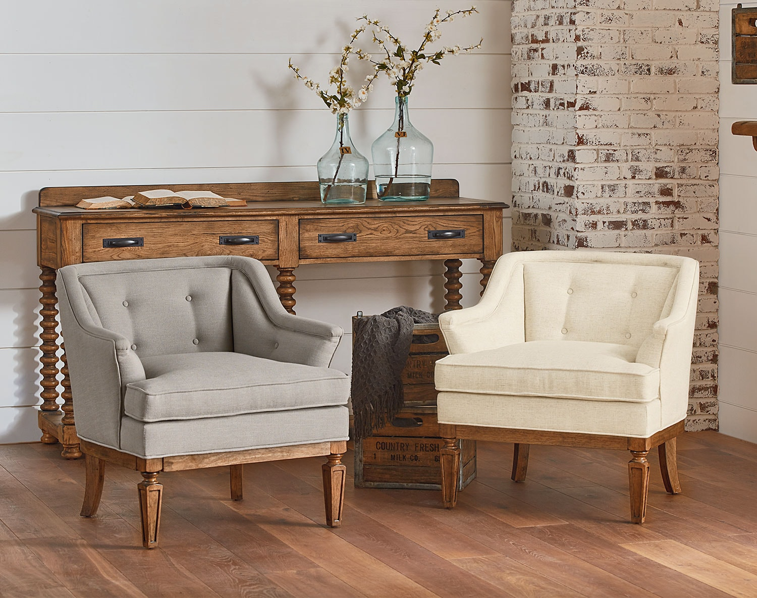 The Cotillion Accent Chair Collection