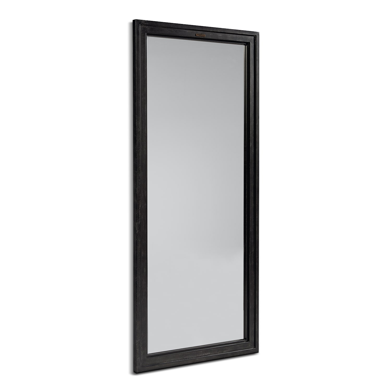Tall Foundry Mirror- Blackened Bronze