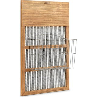 Letter Box with Mesh Back