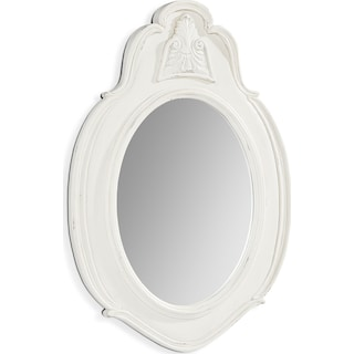 French Inspired Small Cameo Mirror