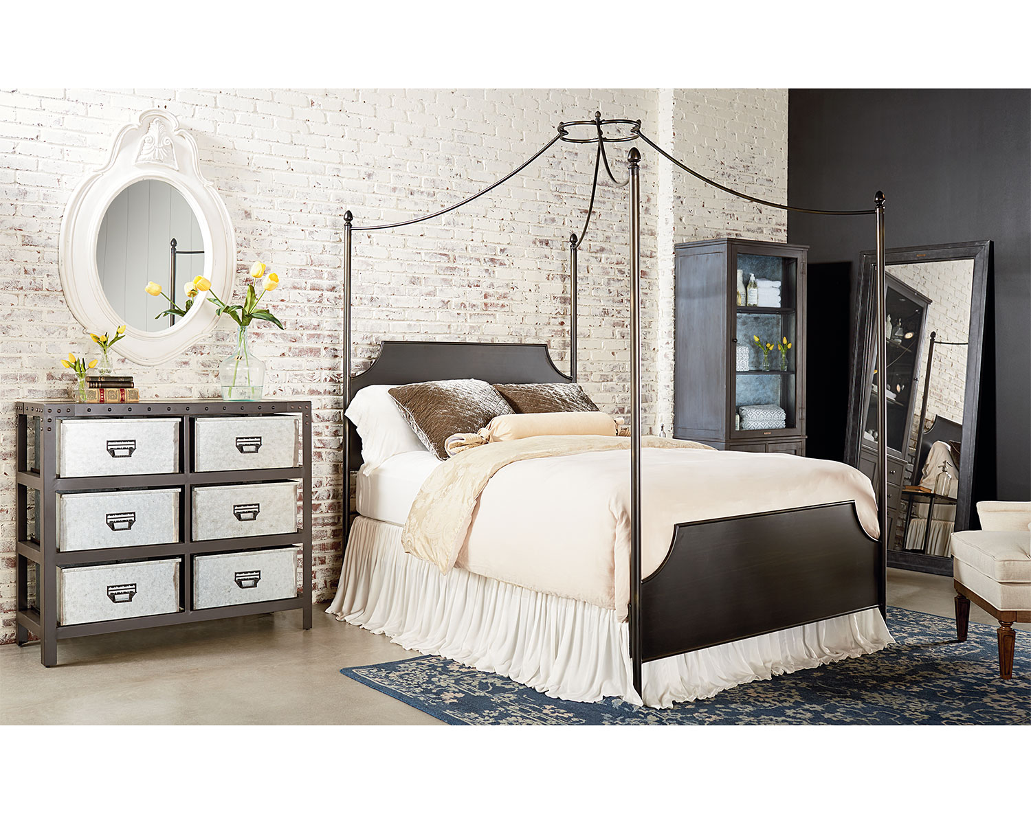 The Traditional Cathedral Canopy Bed Collection