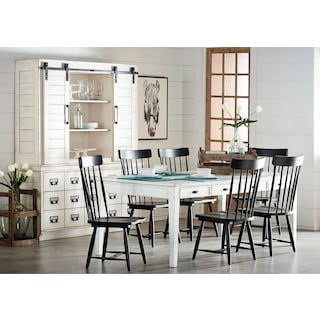 The Farmhouse Dining Collection - Antique White