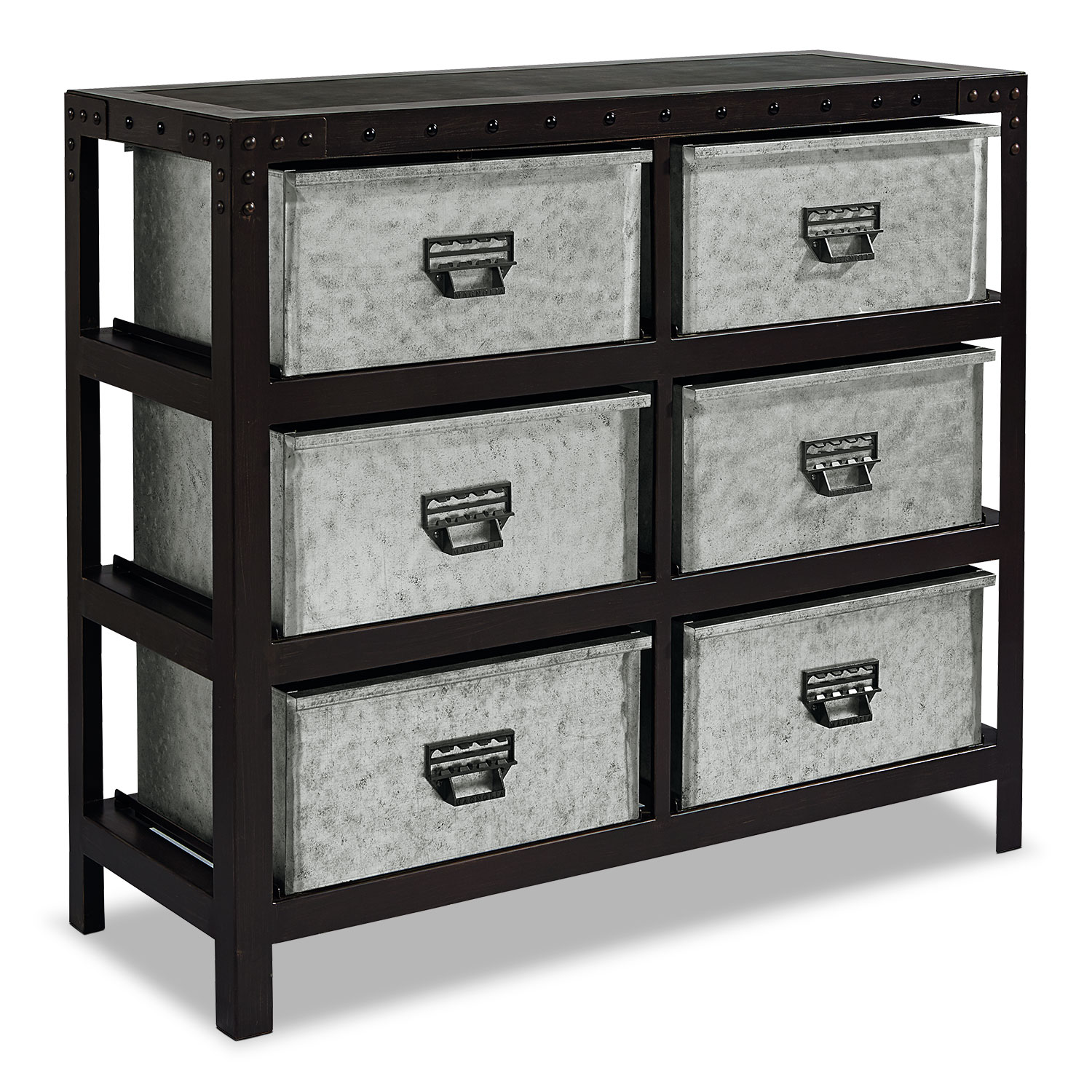 Metal Storage Bin Chest