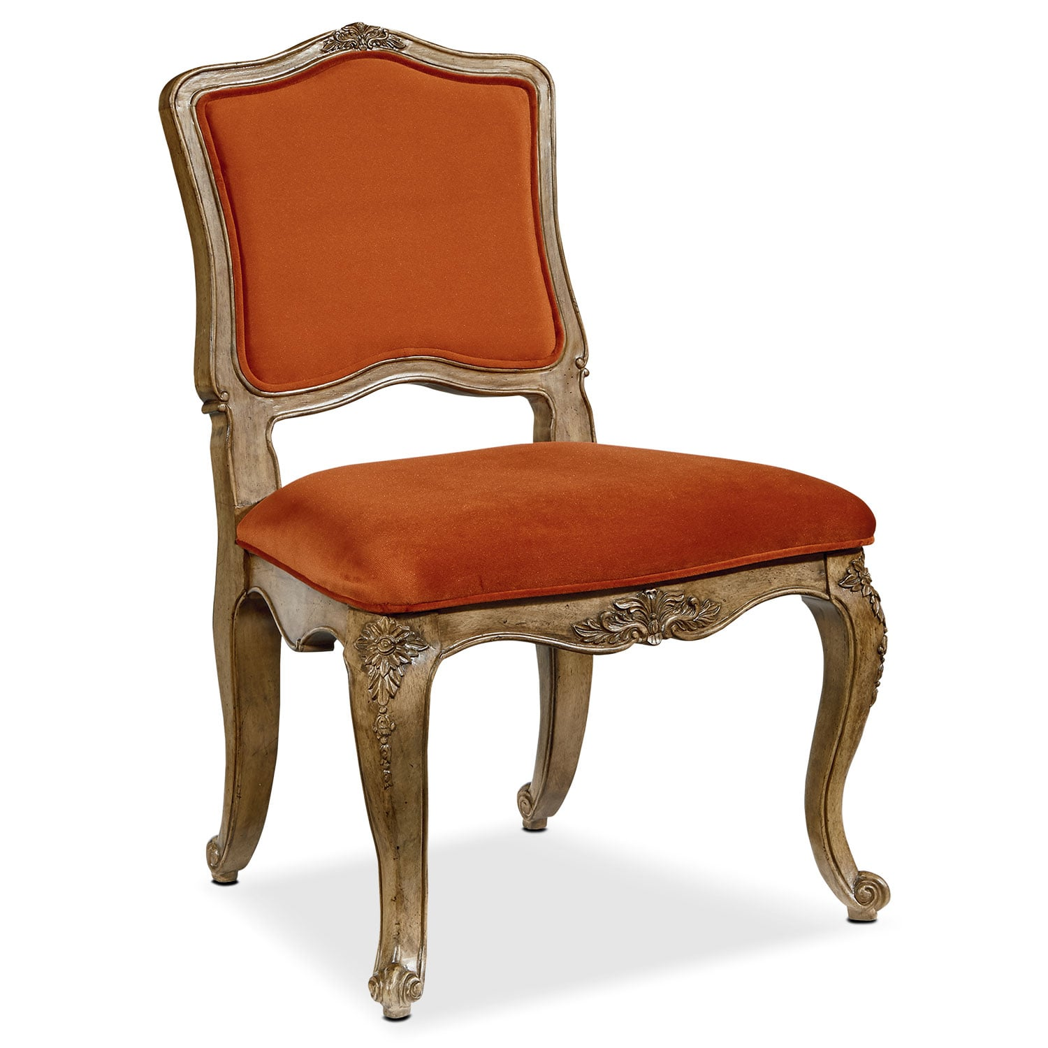 Dining Room Furniture - Flora Accent Chair - Saffron