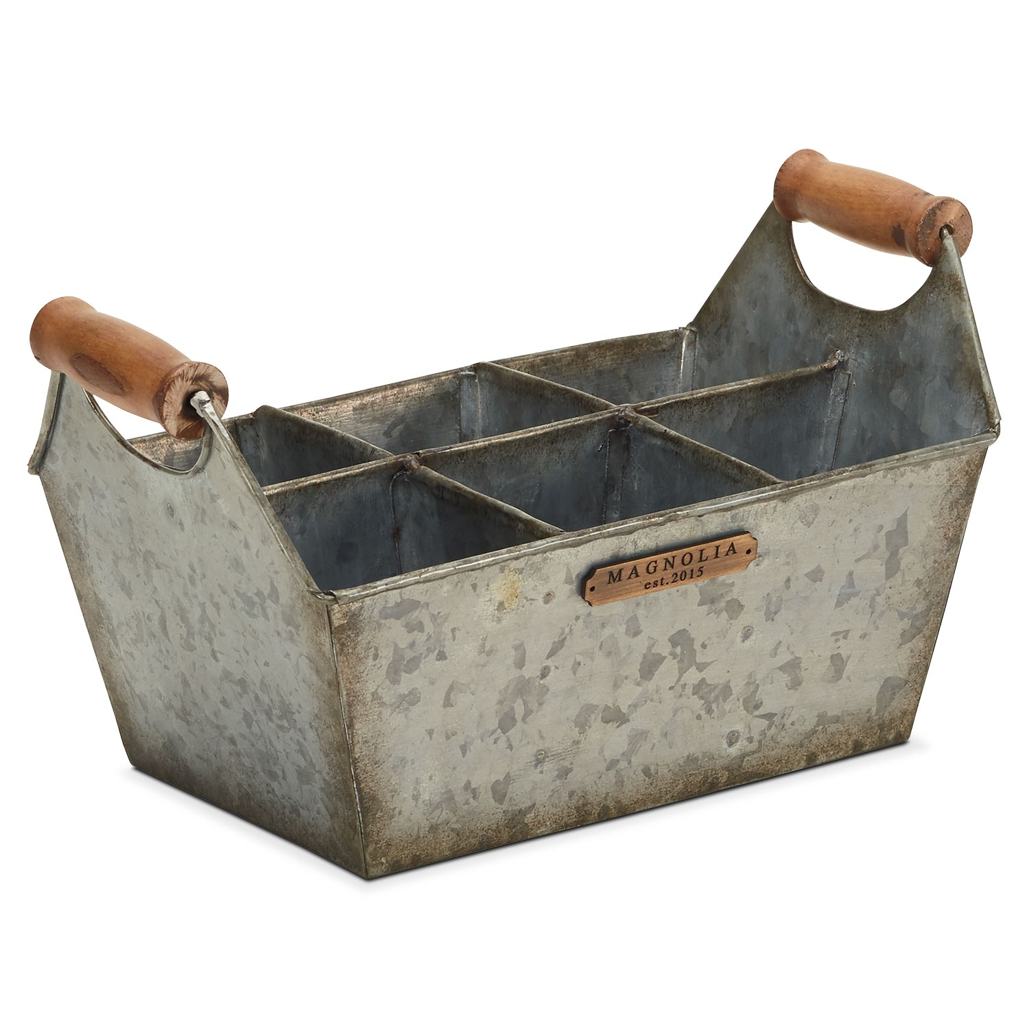Home Accessories - Metal Tool Caddy
