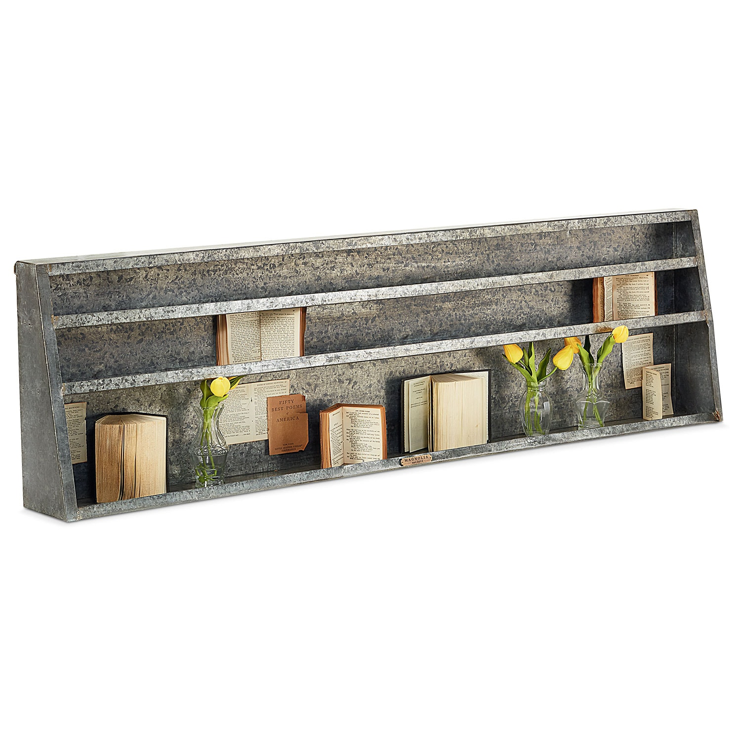 Home Accessories - Metal Wall Shelf