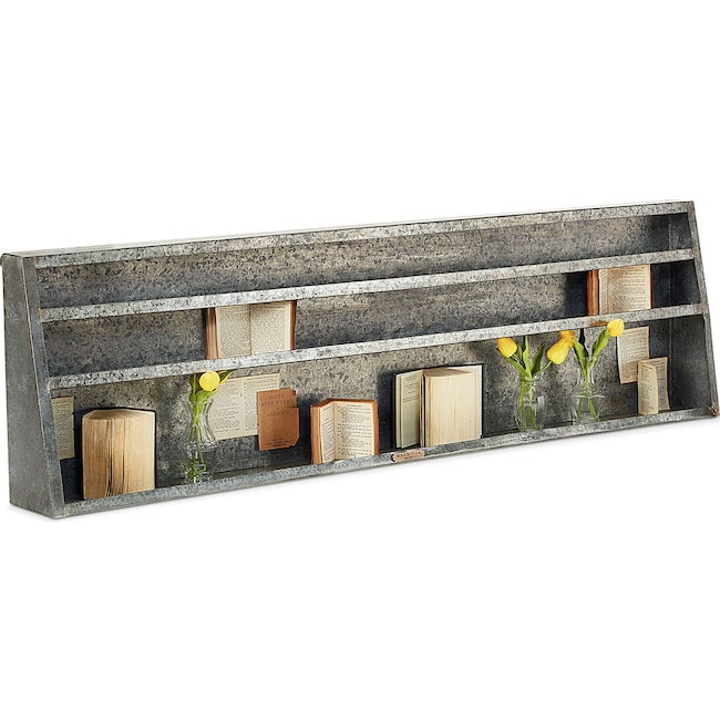 Home Accessories - Metal Wall Shelf