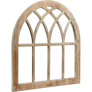 Cathedral Window Frame Wall Hanging