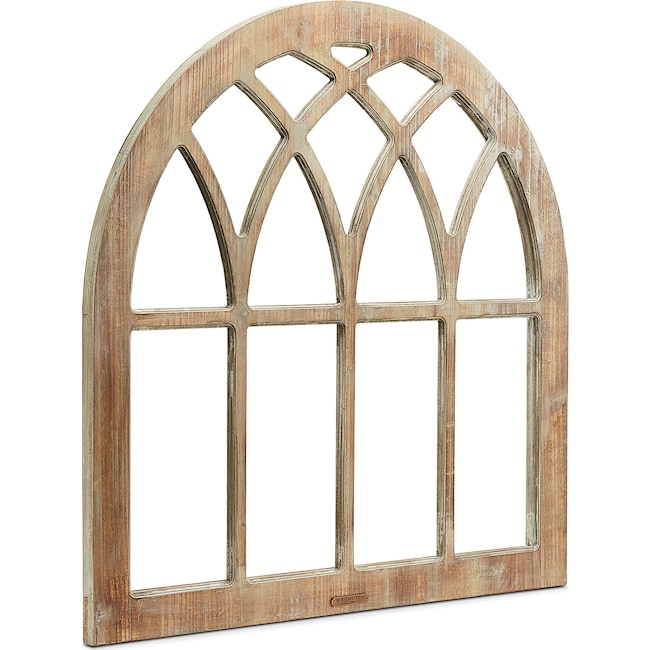 cathedral window frame wall hanging by magnolia home