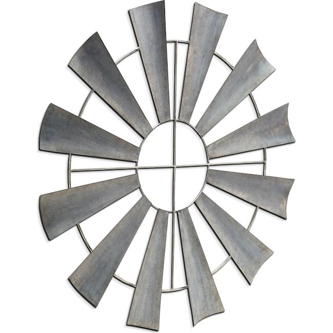 Home Accessories - Metal Windmill