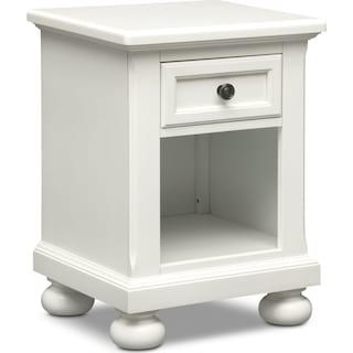 Hanover Youth Nightstand - White