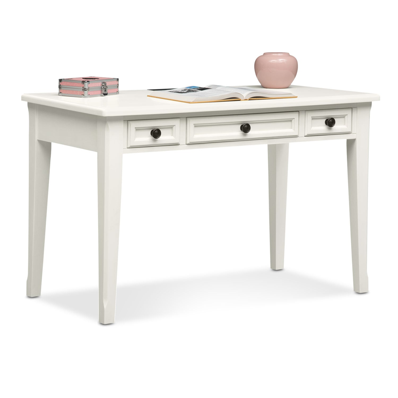 Bedroom Furniture - Hanover Youth Desk - White