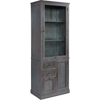 Metal Apothecary Cabinet - French Grey