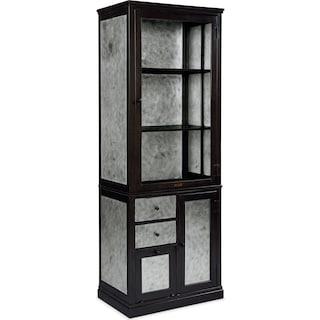 Metal Apothecary Cabinet - Zinc