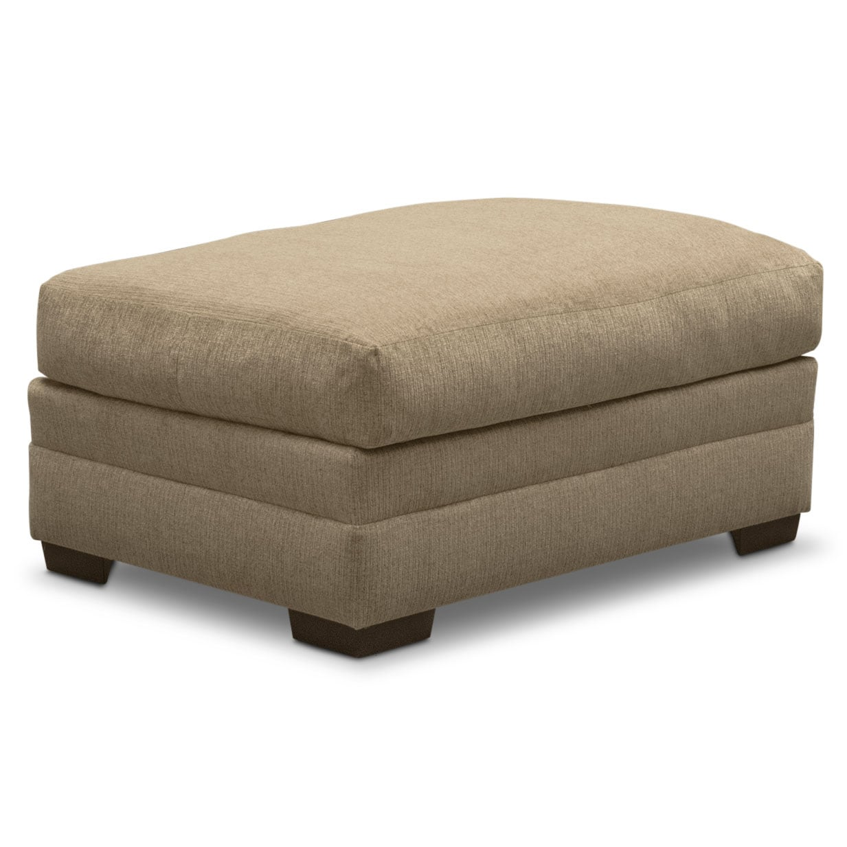 Wilshire Ottoman - Taupe