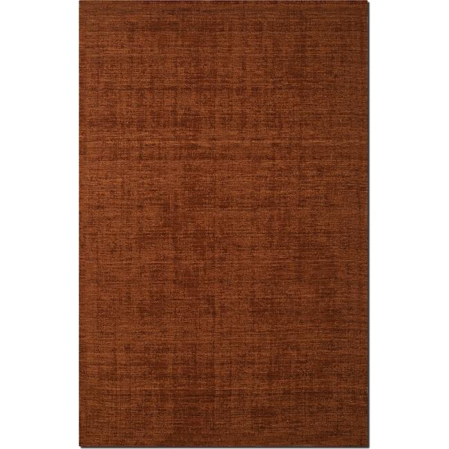 Rugs - Basics 8' x 10' Area Rug - Orange